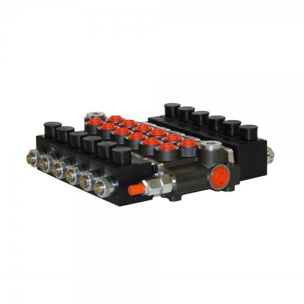 Monoblock 6-fach 50 l/min (elektrisch) doppelwirkend, Badestnost Z50