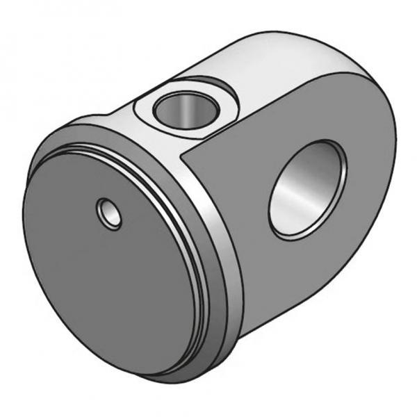 Scharnierzylinderboden mit Öleinlass Typ CFB