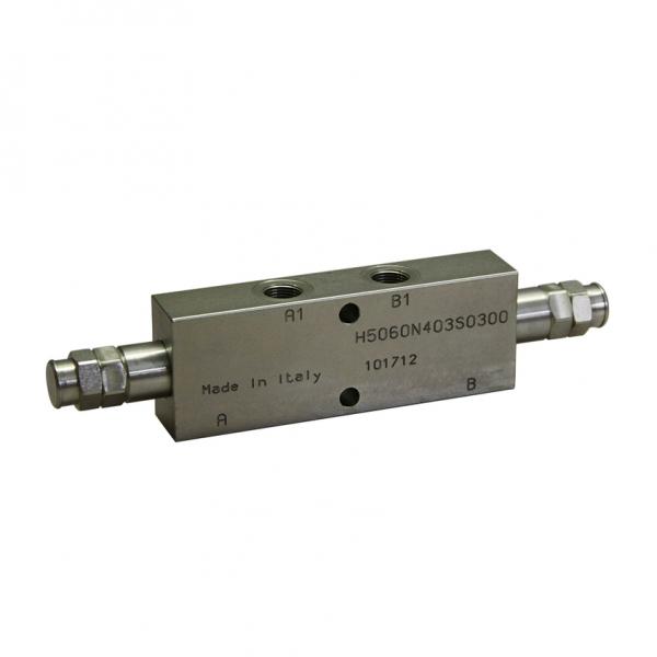 Senkbremsventil doppelt - 70l/min, Leitungseinbau - NEM LHD05