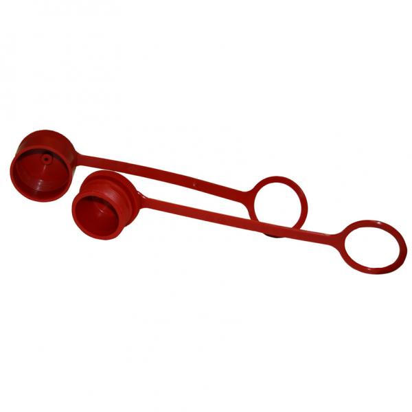 Staubschutz für Schlauchkupplung Serie HSV Stecker BG 8