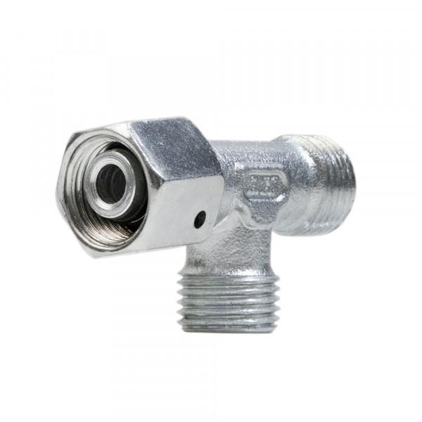 Einstellbare L-Verschraubung EVL, 12 L, M18x1,5 mm