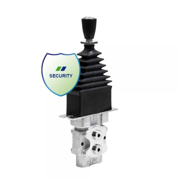 Hydraulische Vorsteuereinheit Linearhebel 1-fach mit Strassensicherung von HydroControl RCM