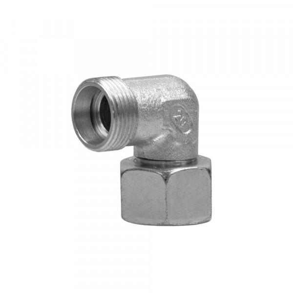 Einstellbare Winkelverschraubung, EW, 15 L, M22x1,5 mm