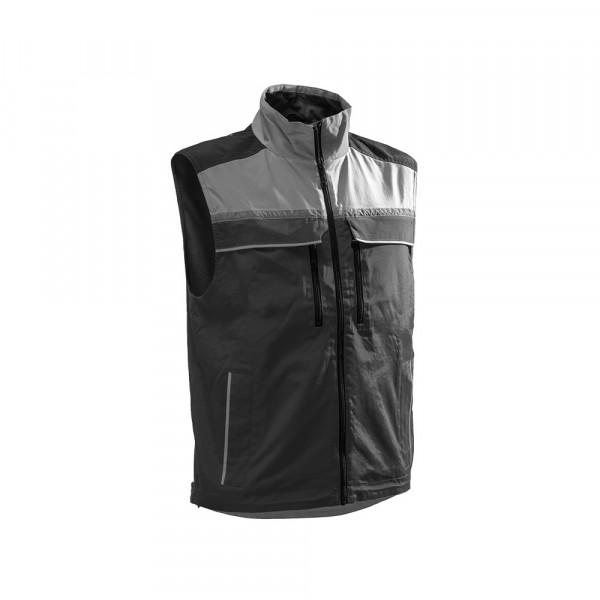 Jobby Colour Bodywärmer schwarz-grau