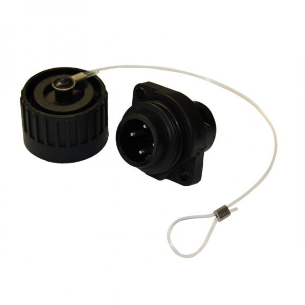 4-pol. Stecker mit Verschlusskappe, G1