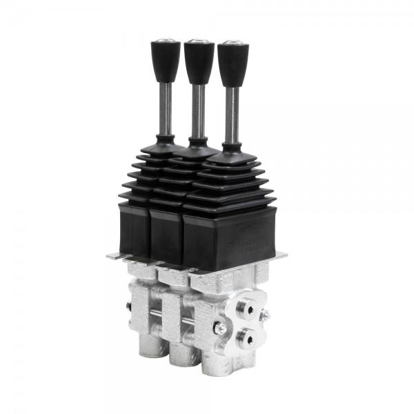 Hydraulische Vorsteuereinheit mit Linearhebel 3-fach von HydroControl RCM