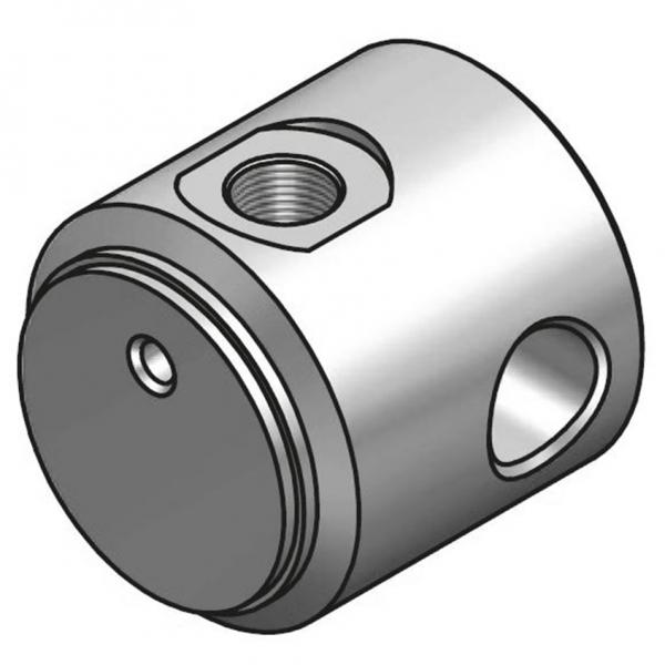 Zylinderboden mit Bohrung und Öleinlass Typ CFE