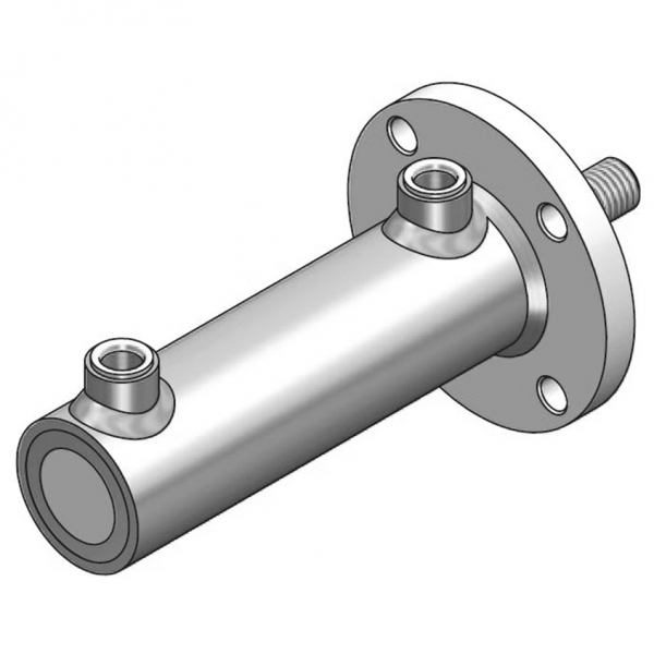 Doppeltwirkender Hydraulikzylinder Typ HMF Ø 70mm