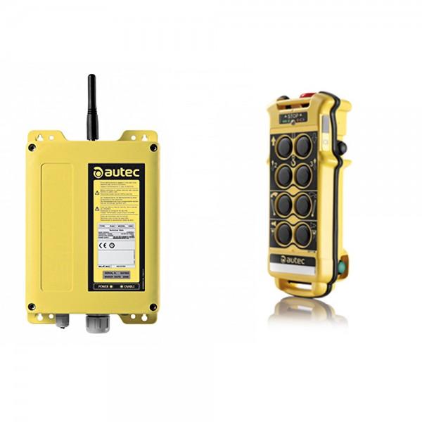 Autec Funkanlage MK08-14 + Empfänger Typ D