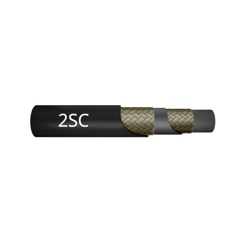 2-Lagen Hydraulikschlauch 2SC (EN 857) - SAE 100 R16 - ISO 11237