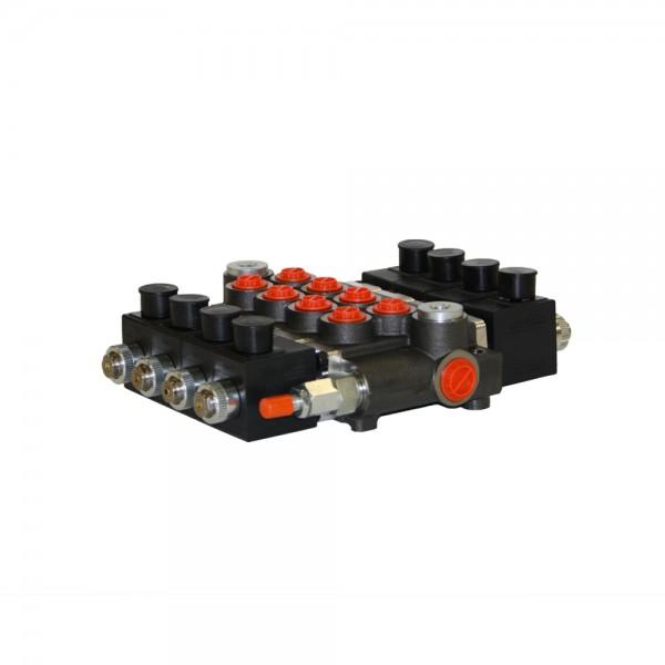 Monoblock 4-fach 50 l/min (elektrisch) doppelwirkend, Badestnost Z50