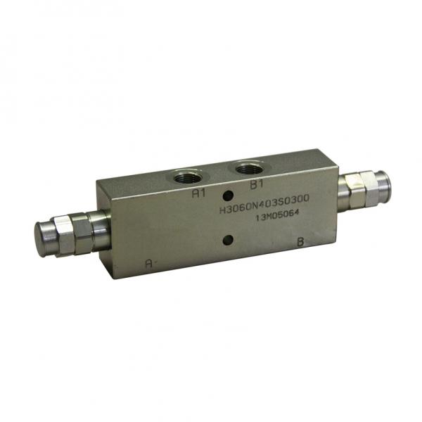 Senkbremsventil doppelt - 40l/min, Leitungseinbau - NEM LHD03