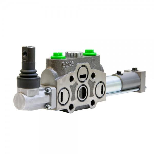 Arbeitssektion 80 l/min handbetätigt, federzentriert, pneumatisch, für HC-D4