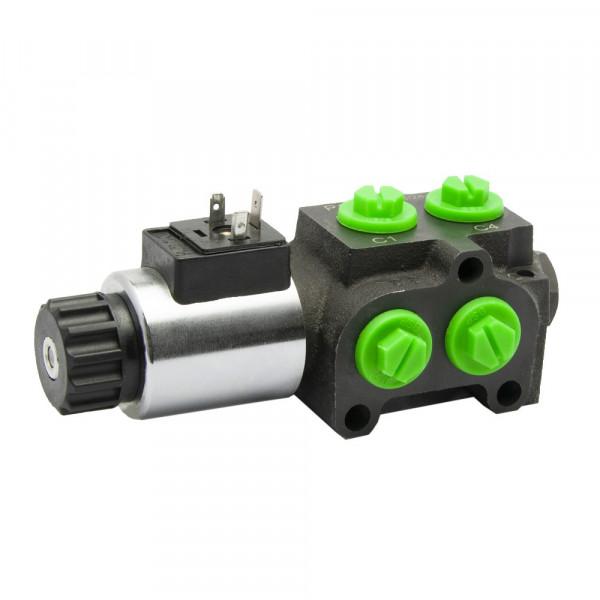 6/2 Wege Umschaltventil | 90l/min - 280bar | elektrische Betätigung