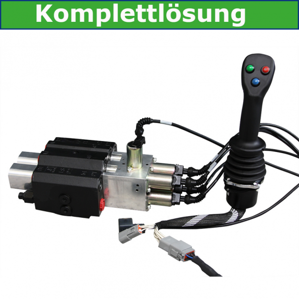 Einhebelsteuergerät 95 l/min elektrisch proportional mit Joystick