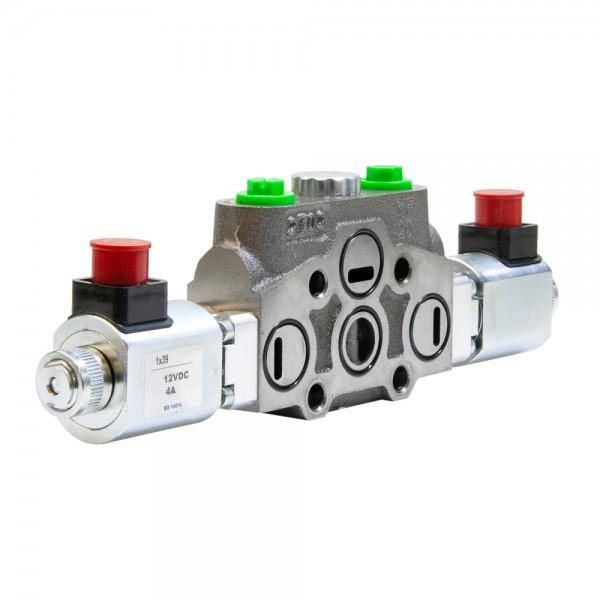 Arbeitssektion 80 l/min doppelwirkend, beidseitig elektrisch, für HC-D4