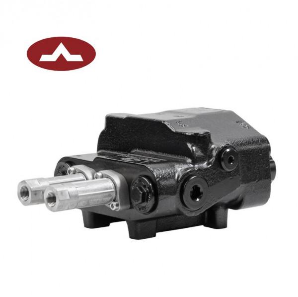 Walvoil SDM122 / DLM122, Frontladerventil 2-fach 80 l/min, Konstant-/LS-Pumpe