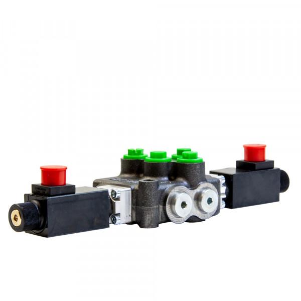 Monoblock 1-fach 45 l/min (elektrisch) A & B nach T offen, HydroControl M45