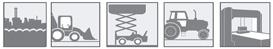 Anwendungen für Hydraulikschlauch 4SP